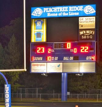 Peachtree Ridge High School - PRHS JV Football