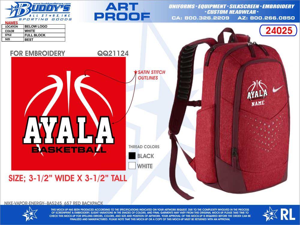 Ayala High School - Girls' JV Basketball