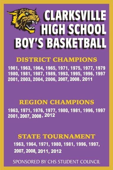 Clarksville High School - Boys' Varsity Basketball