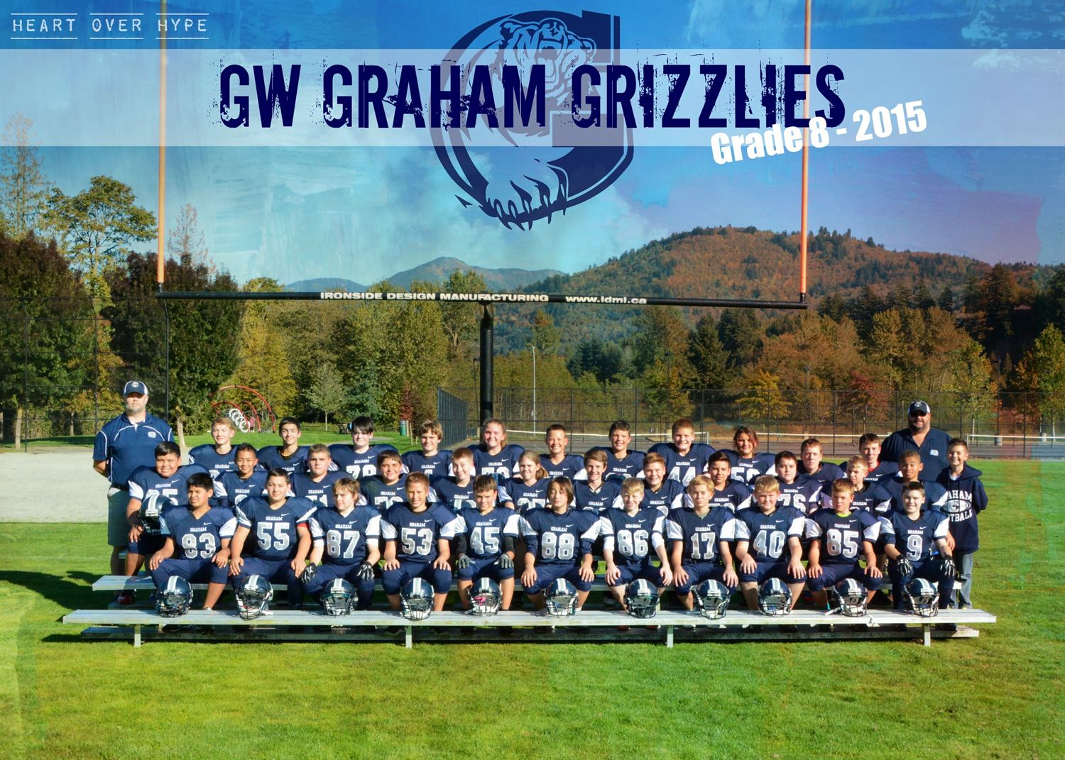 G.W. Graham High School - Boys' Freshman Football