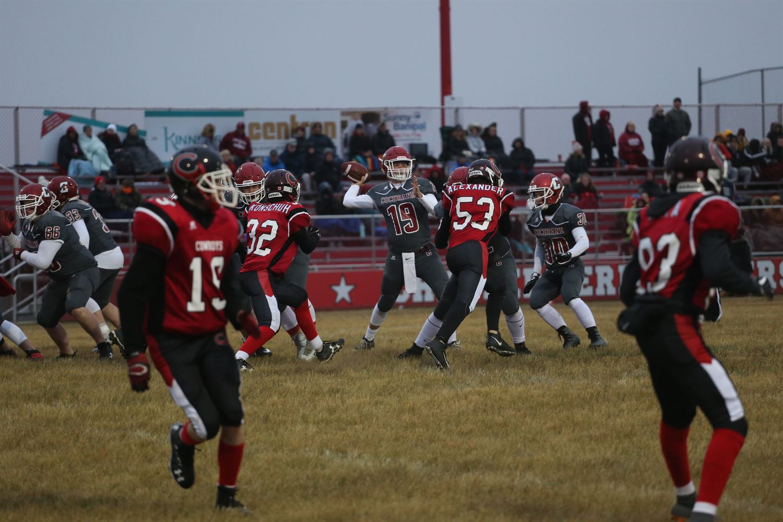 boys varsity football - cochrane high school - cochrane, canada