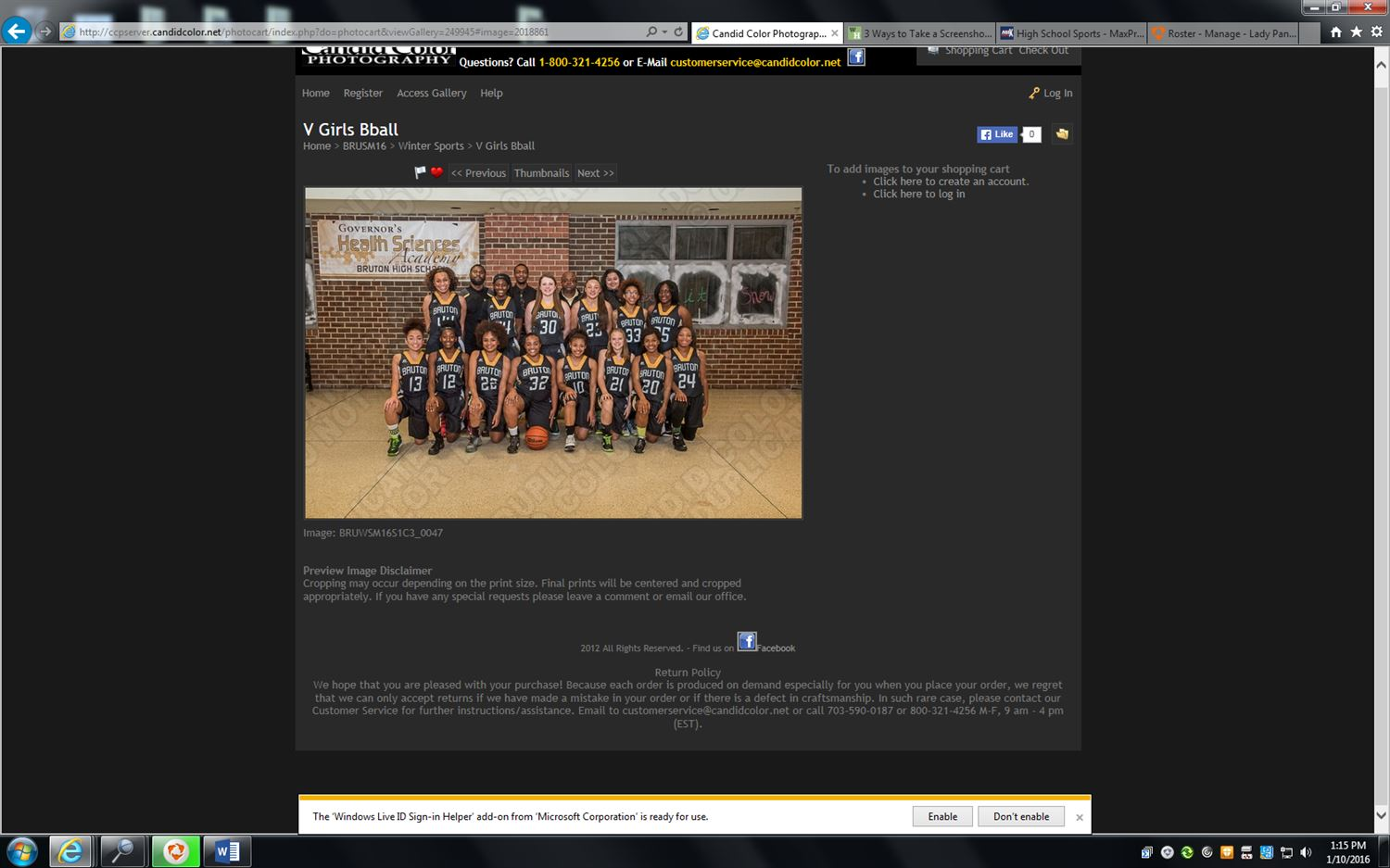 Bruton High School - Lady Panthers