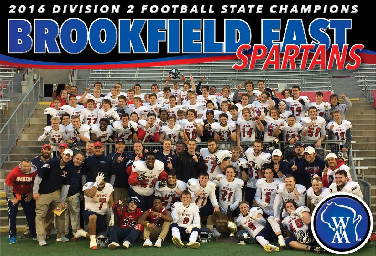Brookfield East High School - Boys Varsity Football