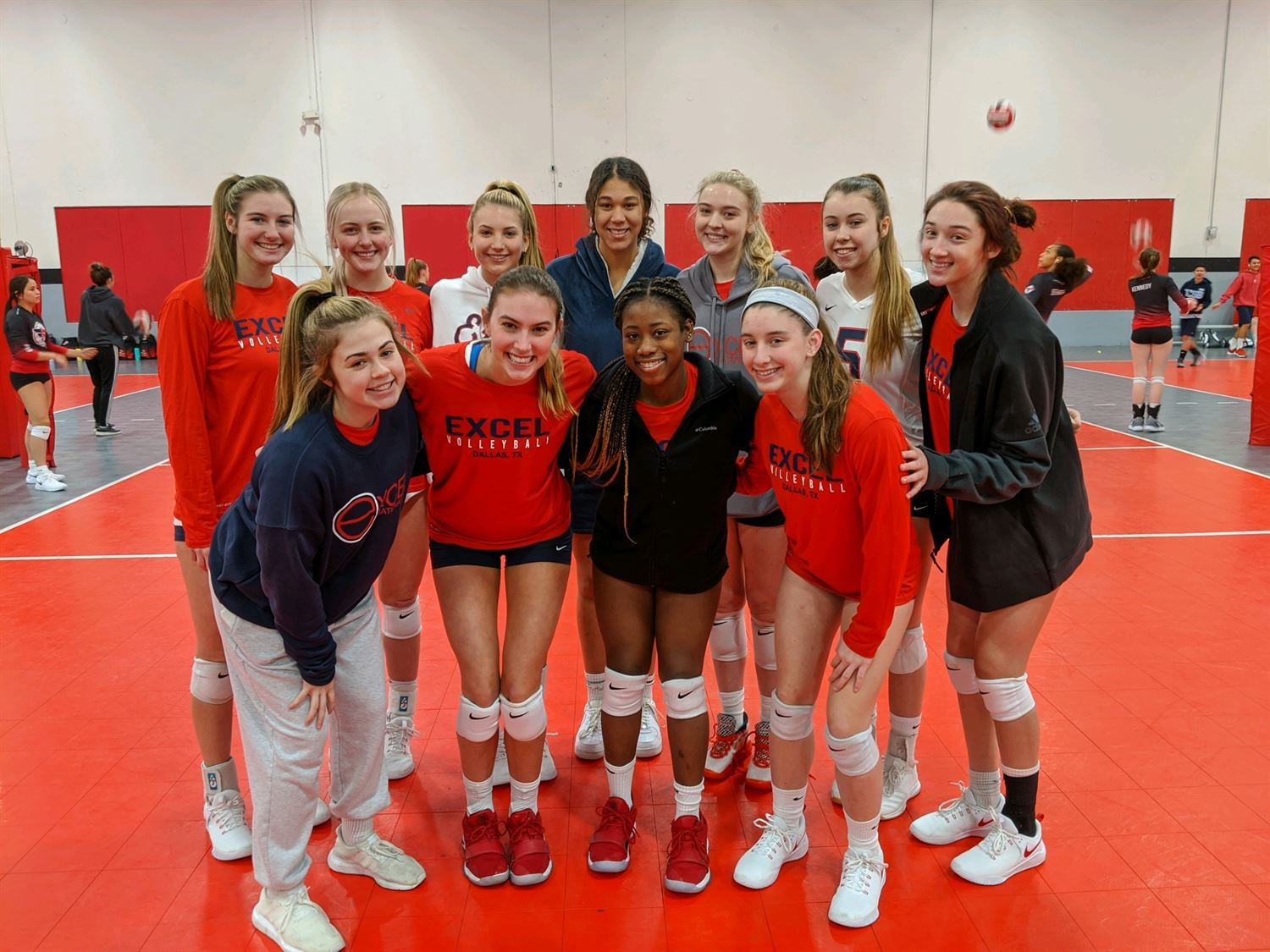 17 Red Excel Volleyball Club Carrollton Texas Volleyball Hudl