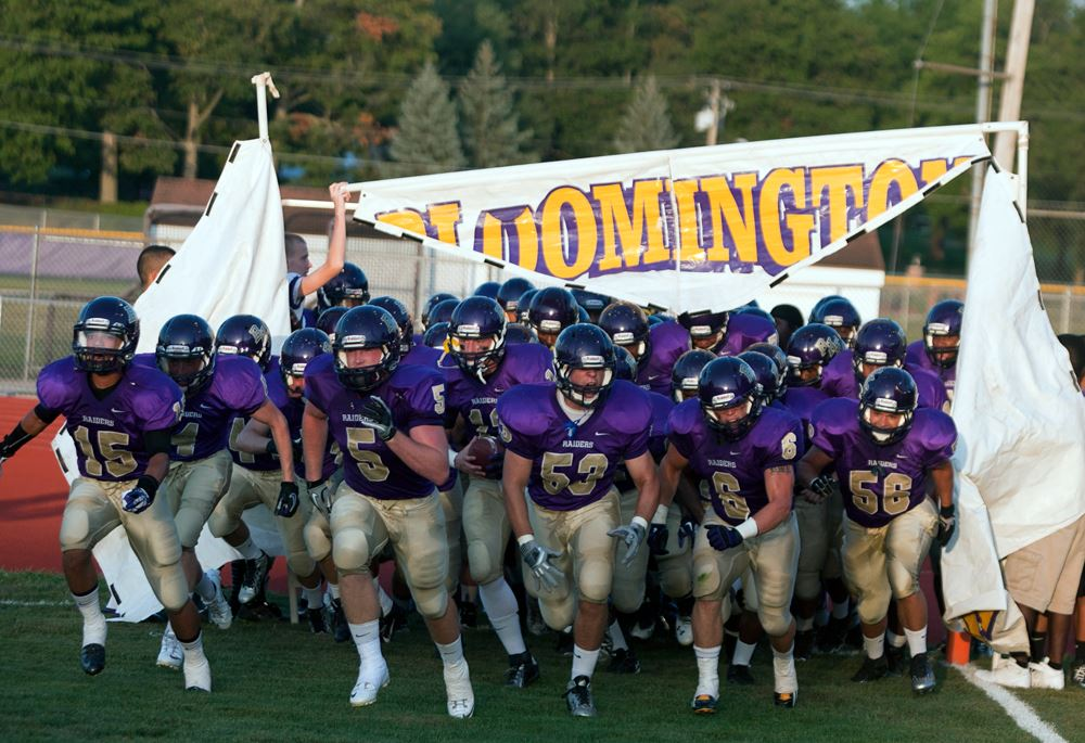 Bloomington High School - Boys Varsity Football