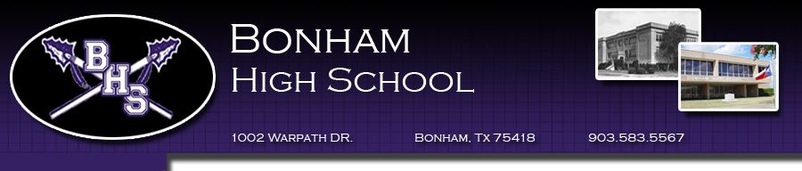Bonham High School - Boys Varsity Football