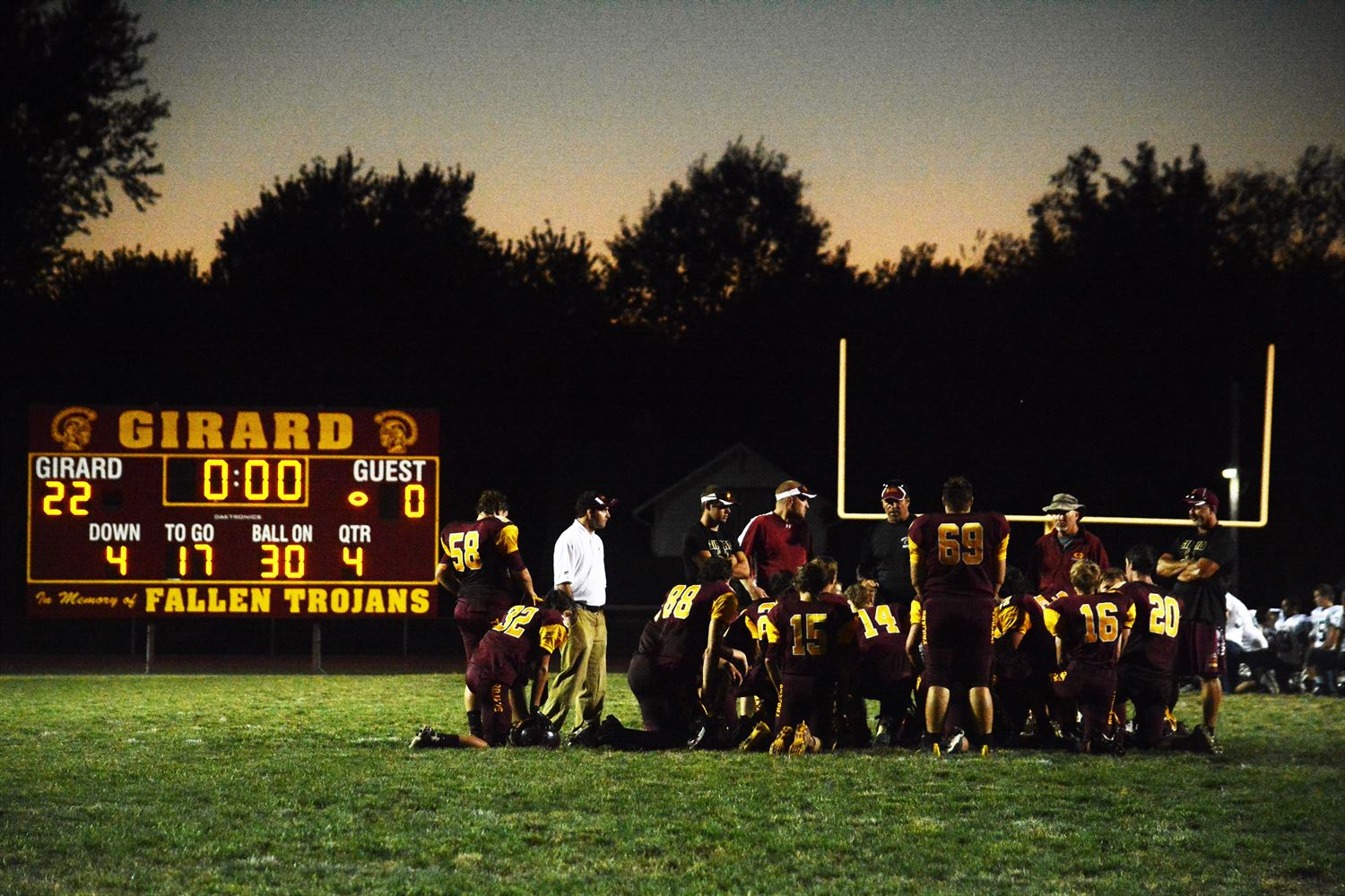 Girard High School - Boys Varsity Football