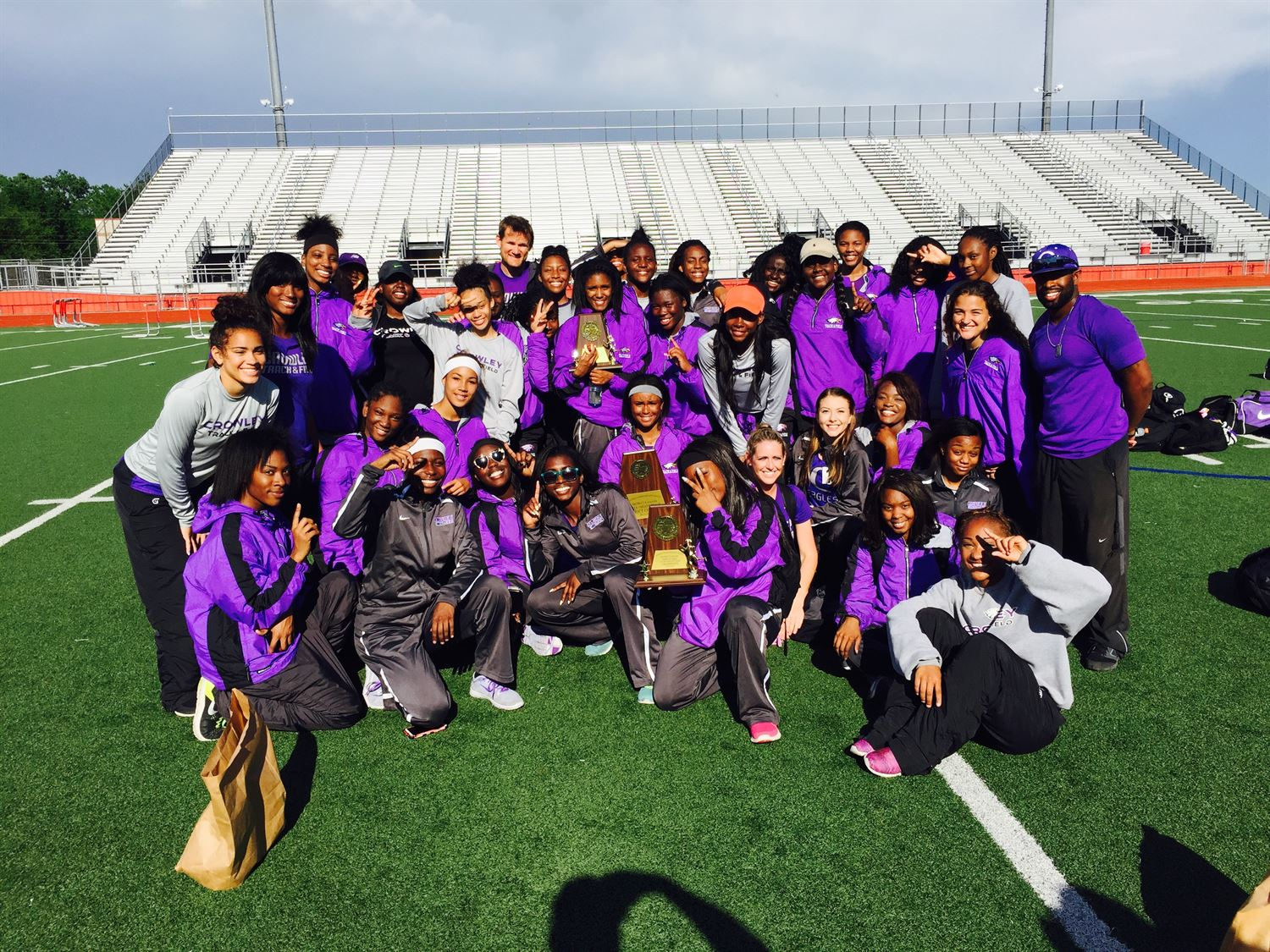 Crowley High School - Girls' Varsity Track & Field