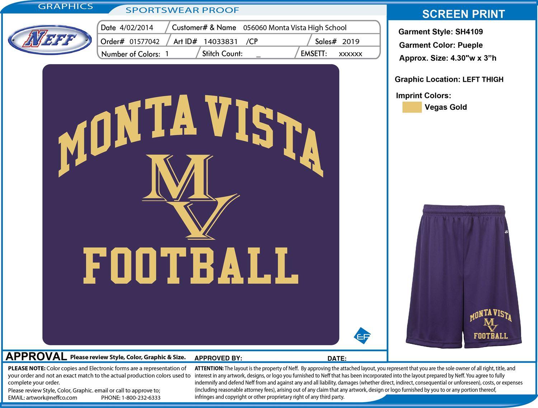 Monta Vista High School - Boys Varsity Football