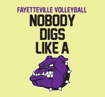 Fayetteville High School - Girls Varsity Volleyball