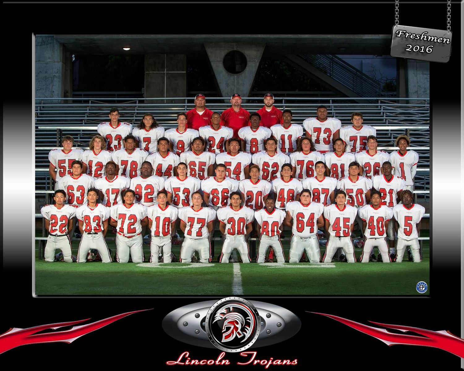 Lincoln High School - Freshman Football