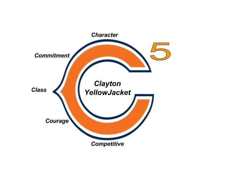 Clayton High School - 2017 YellowJacket Football