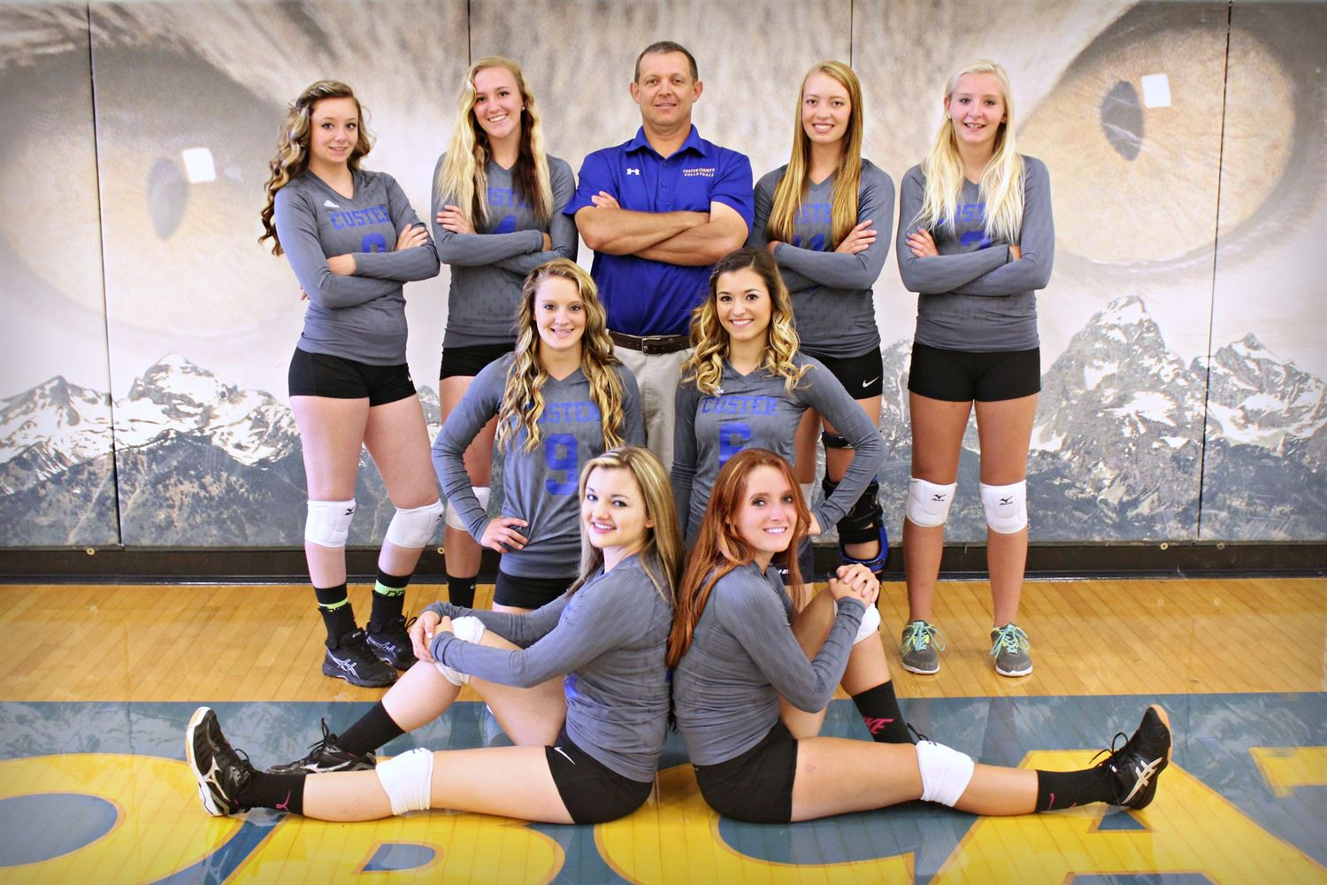 Custer County High School - Girls' Varsity Volleyball