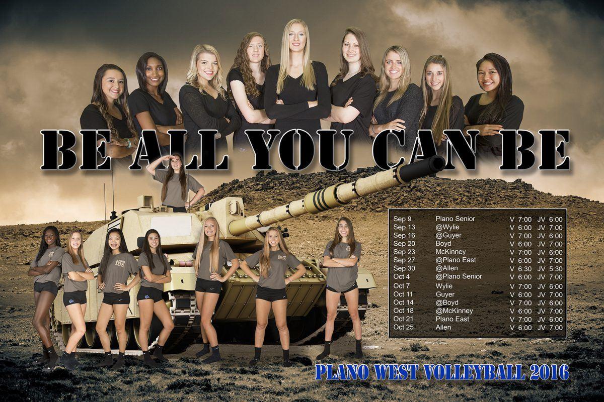 Plano West High School - Girls Varsity Volleyball