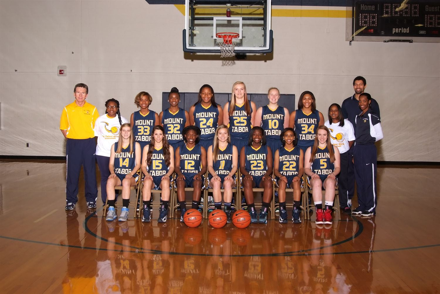Mt. Tabor High School - Varsity 2013-2014