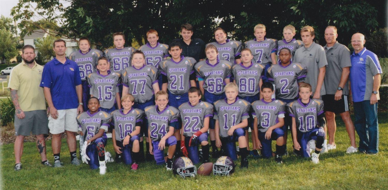 Spartans 7th Grade AFC South  - Graphite