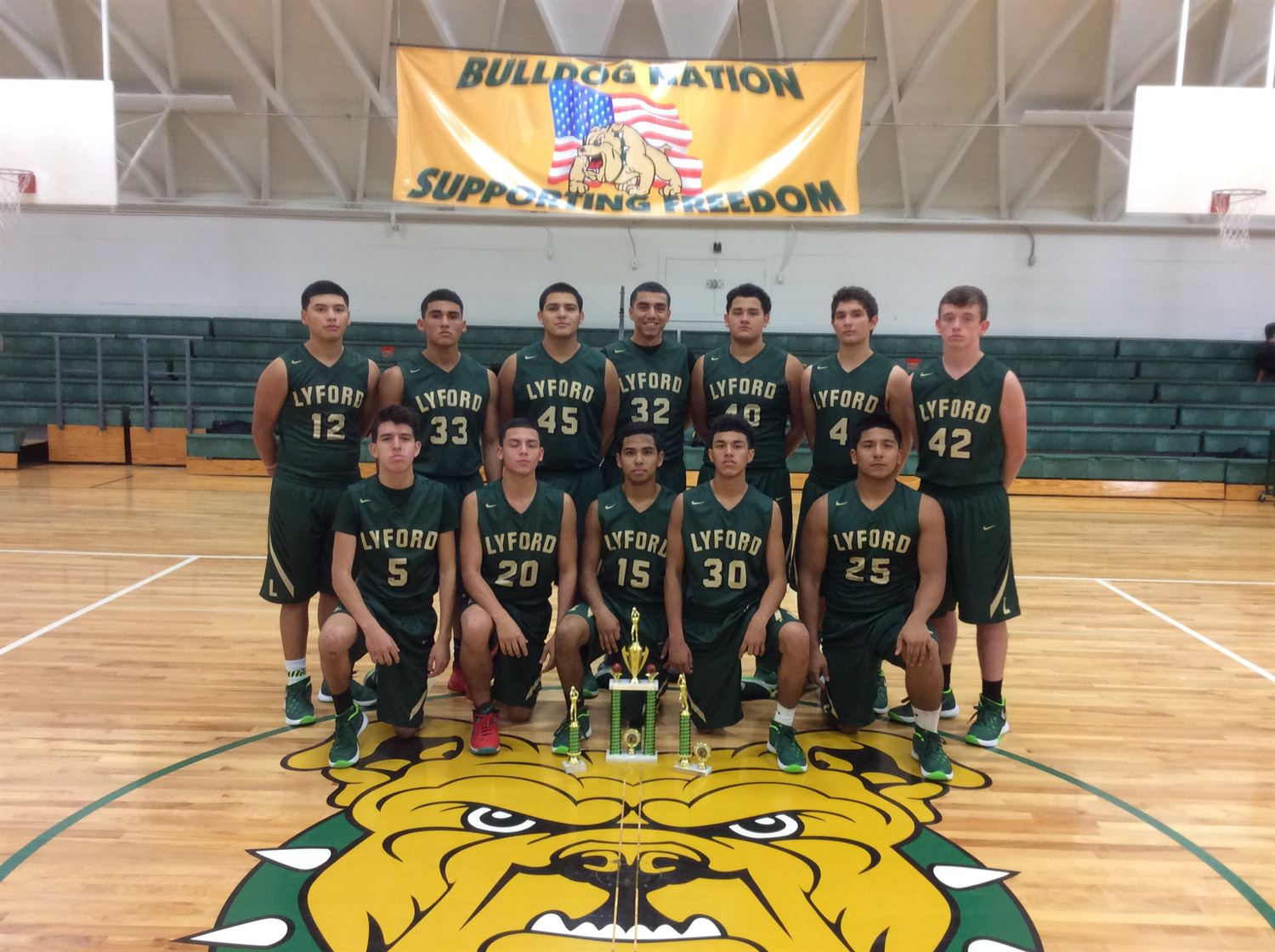 Lyford High School - Boys' Varsity Basketball