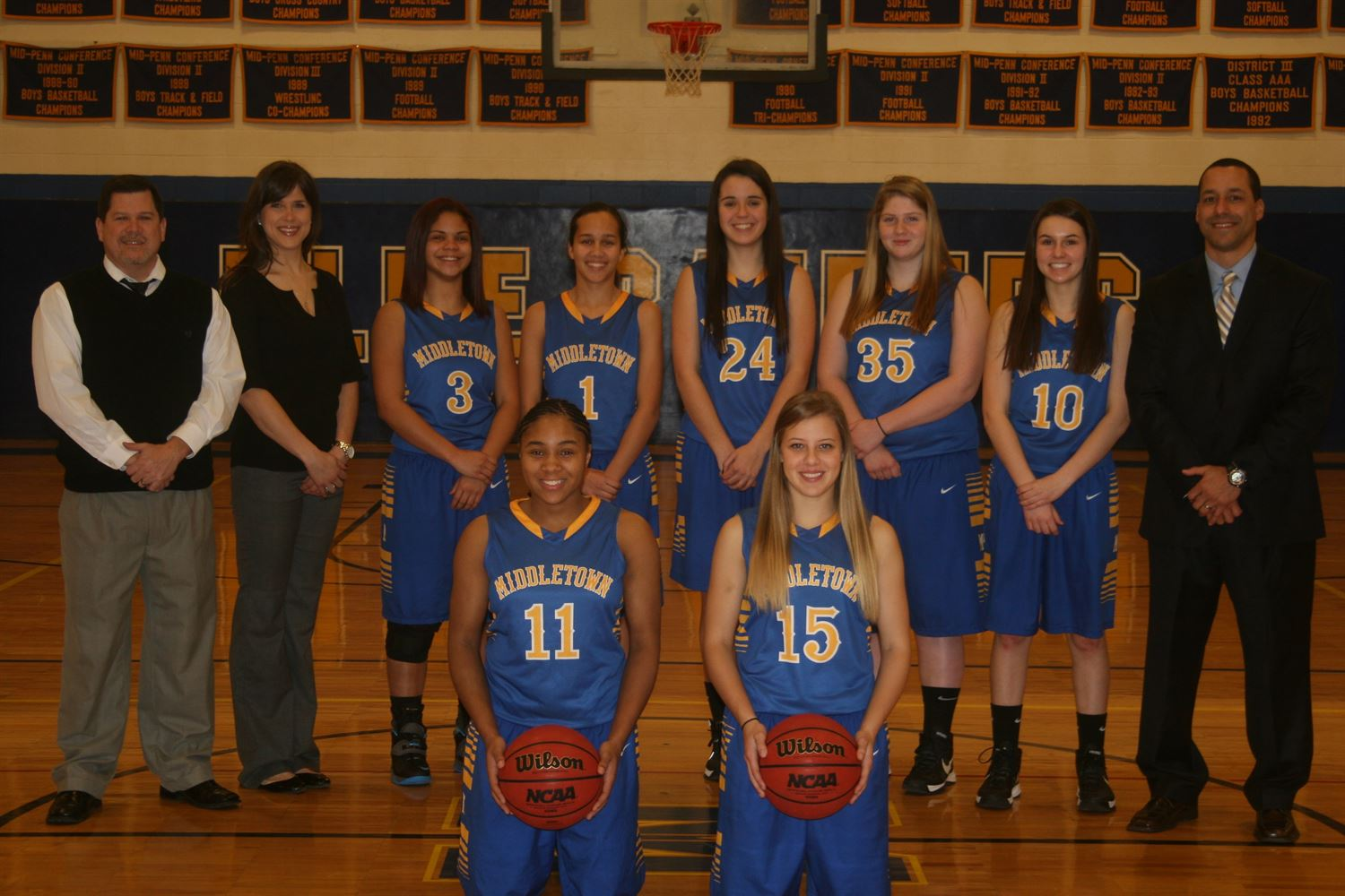Middletown Area High School - Middletown Girls Basketball