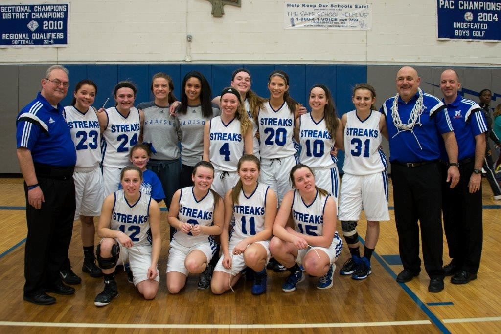 Madison High School - Girls Varsity Basketball