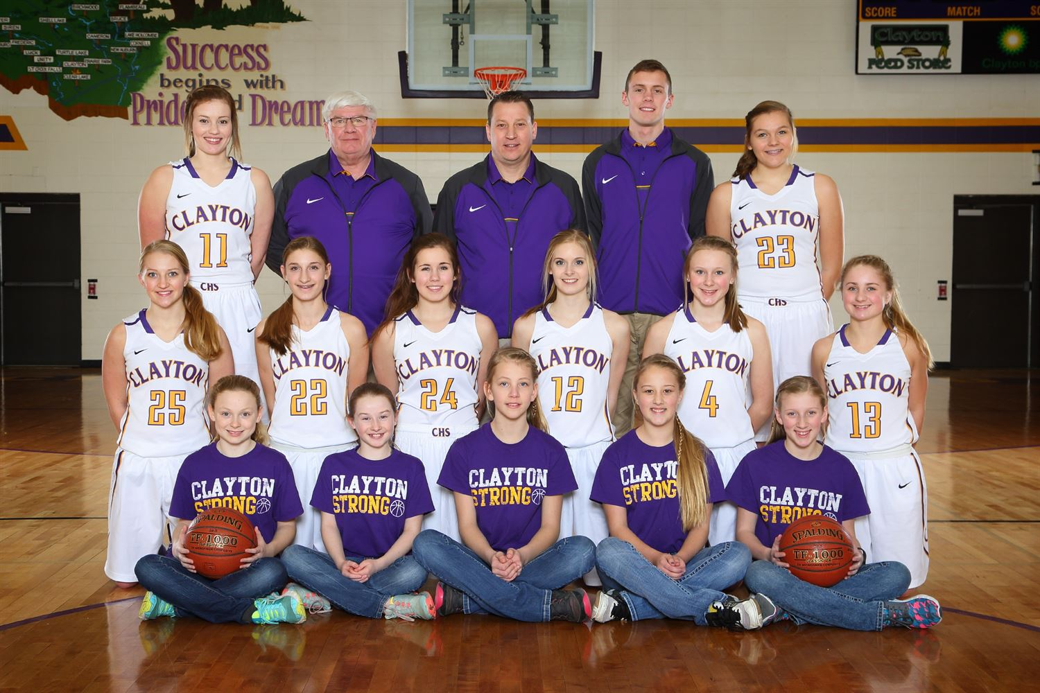 Clayton High School - Clayton Girls Basketball