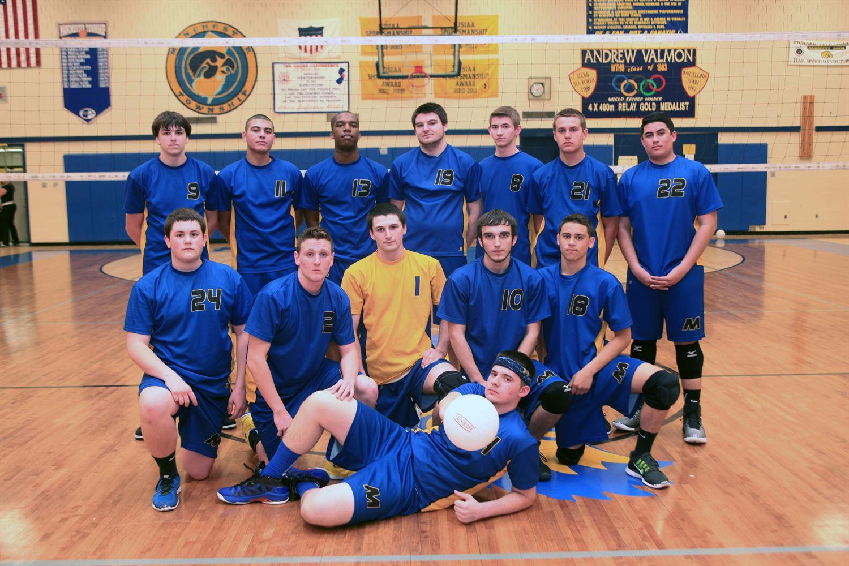 Manchester Township High School - Manchester Twp. Boys' Varsity Volleyball