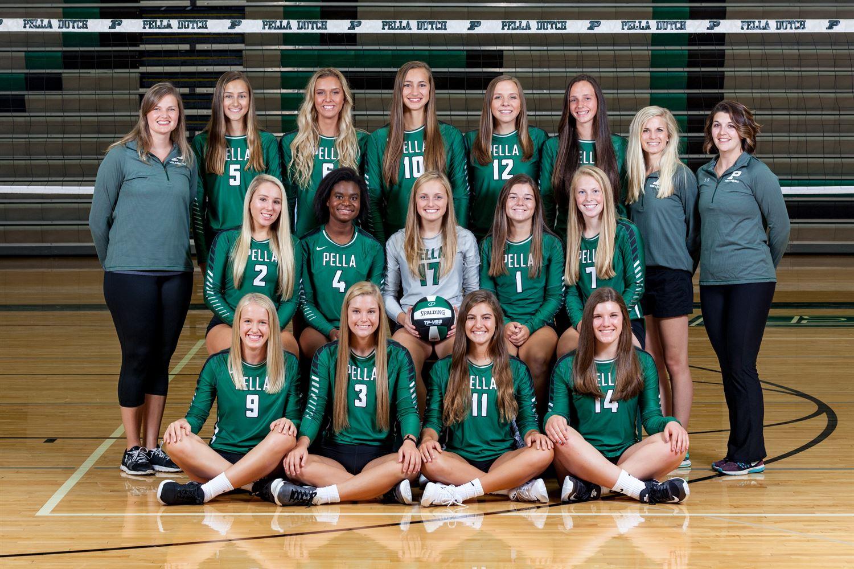 Lady Dutch Volleyball Pella High School Pella Iowa Volleyball