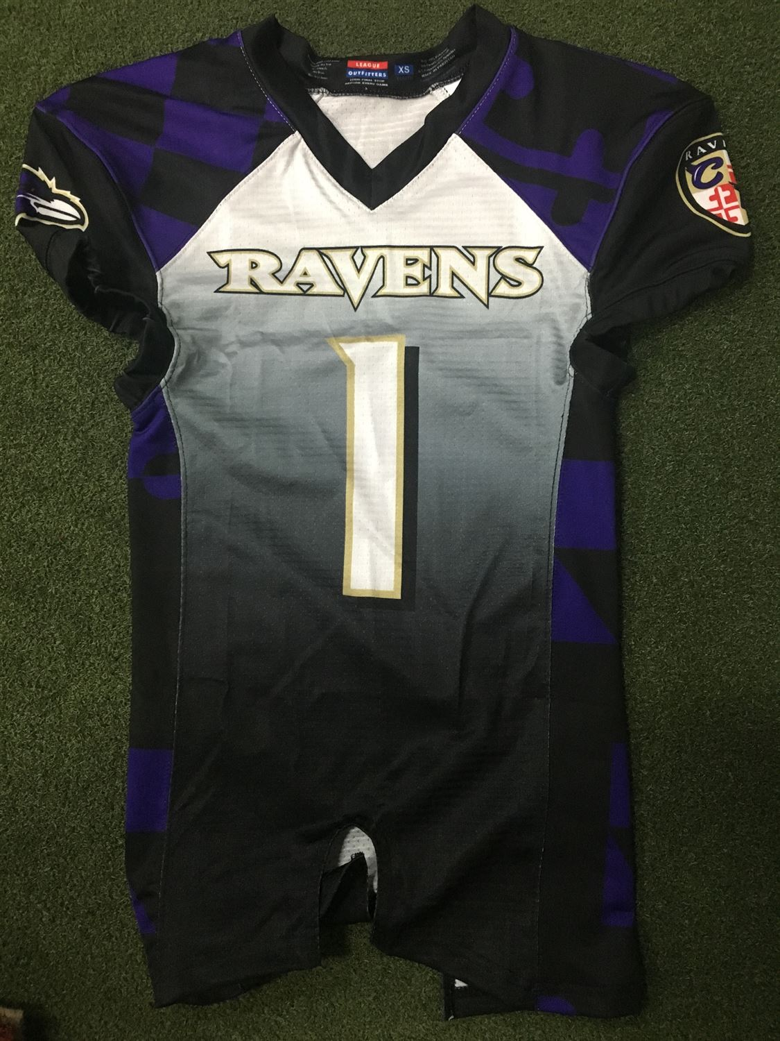 youth ravens jersey