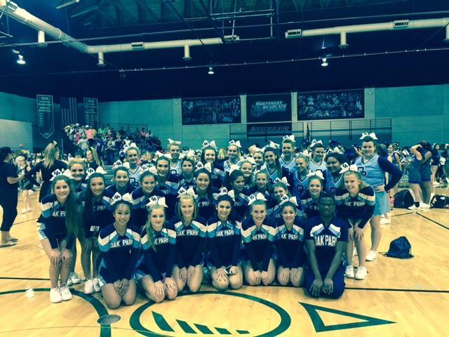 Oak Park High School - Cheerleading