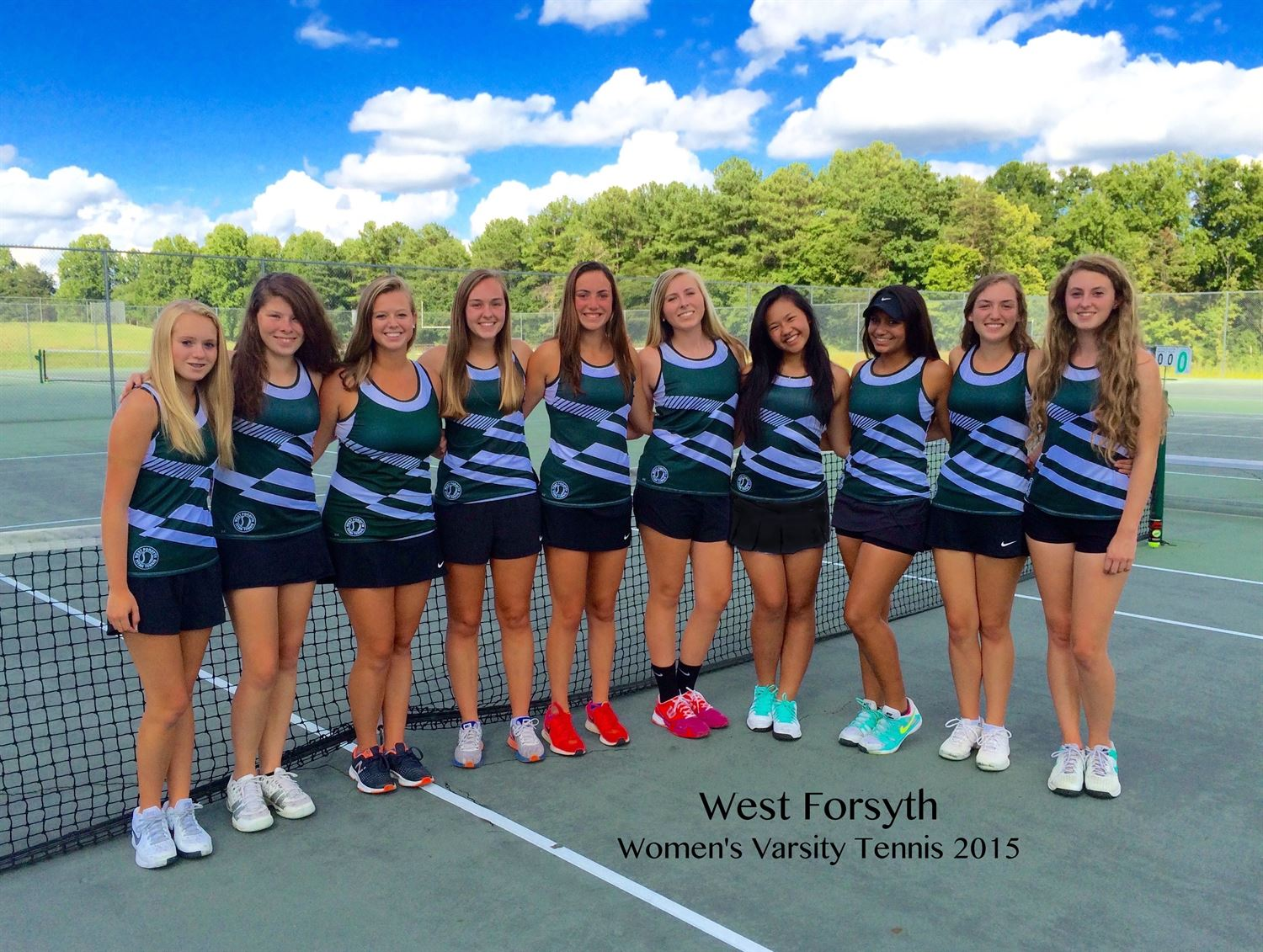 West Forsyth High School - Women's Varsity Tennis