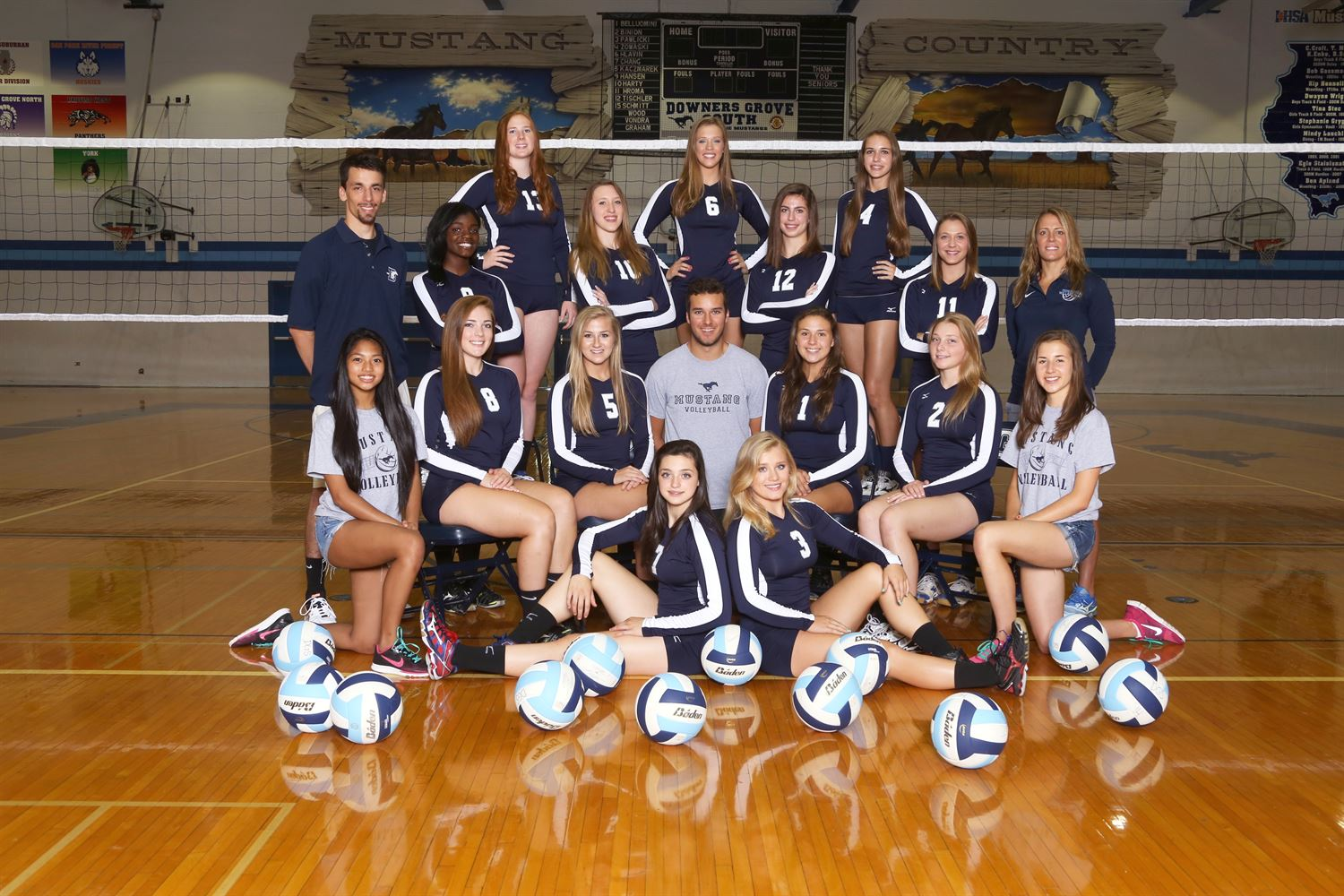Downers Grove South High School - Girls Varsity Volleyball