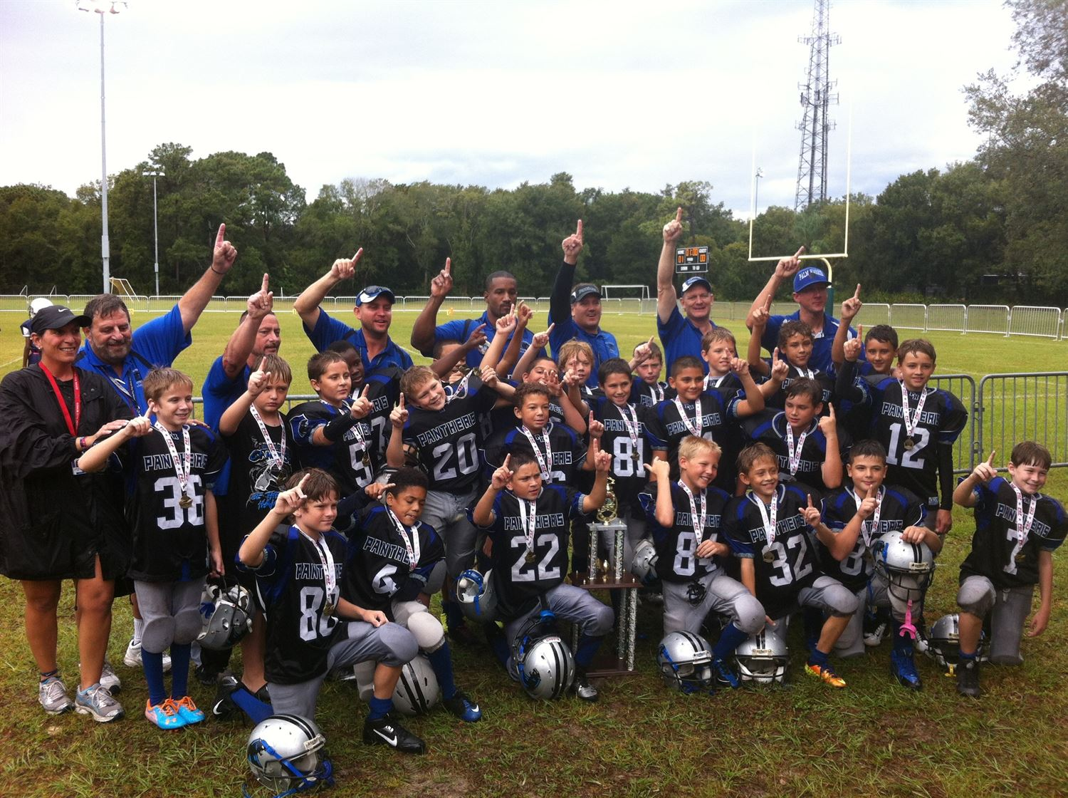 William Demas Youth Teams - Palm Harbor Panthers Unlimited
