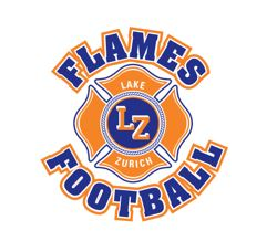 Lake Zurich Flames -TCYFL - Featherweight PAC 10 Blue 2016