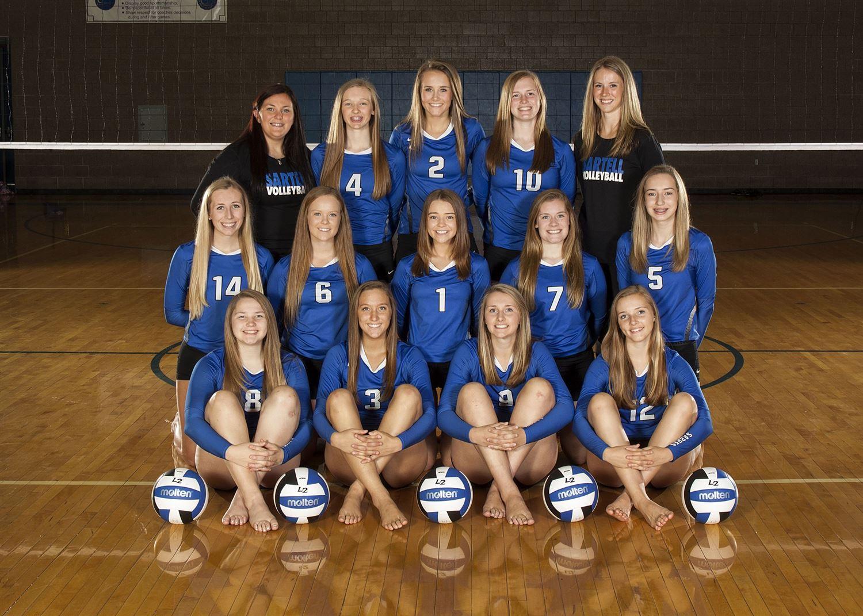 Sartell-St. Stephen High School - Volleyball