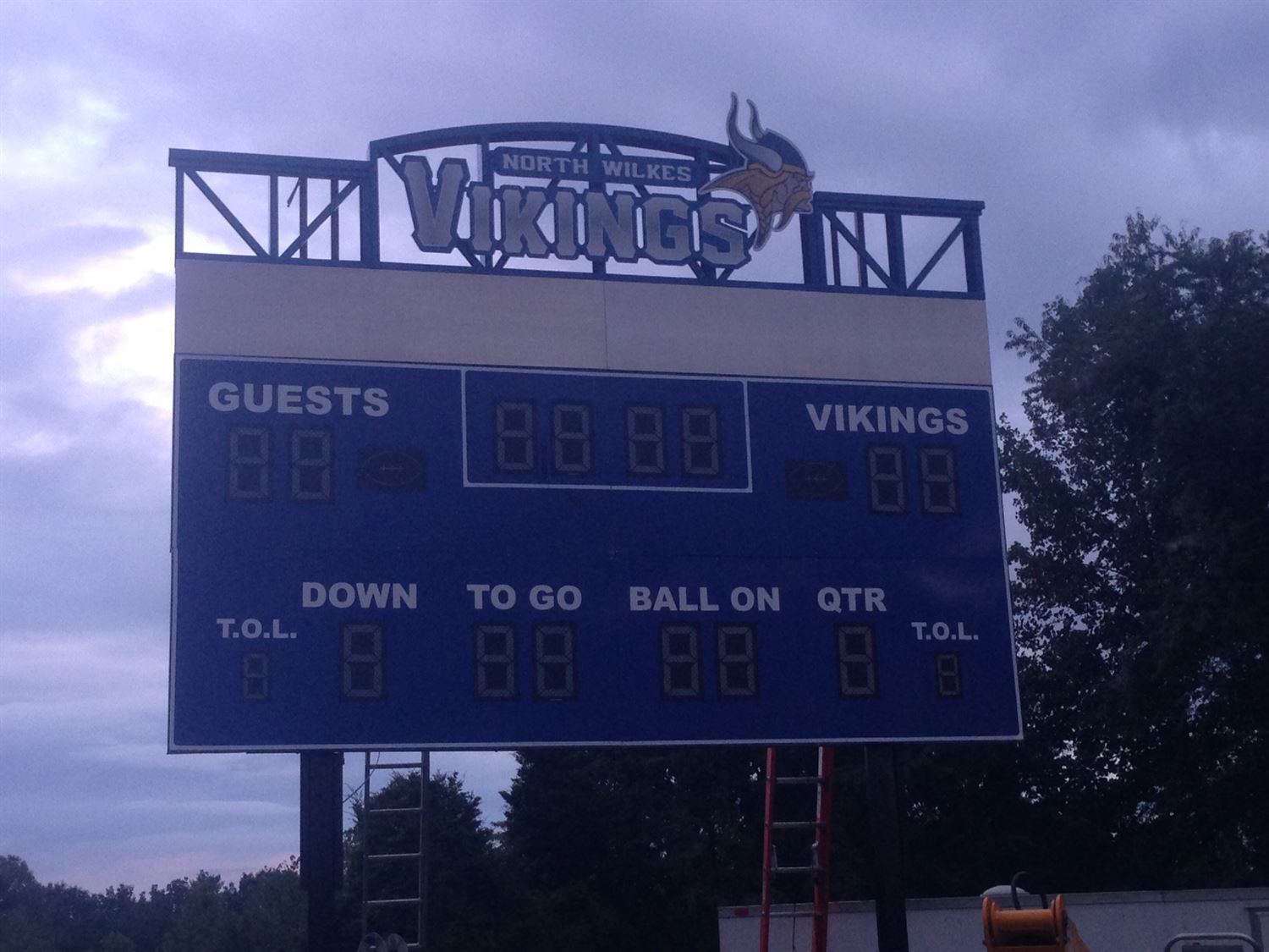 North Wilkes High School - JV Football