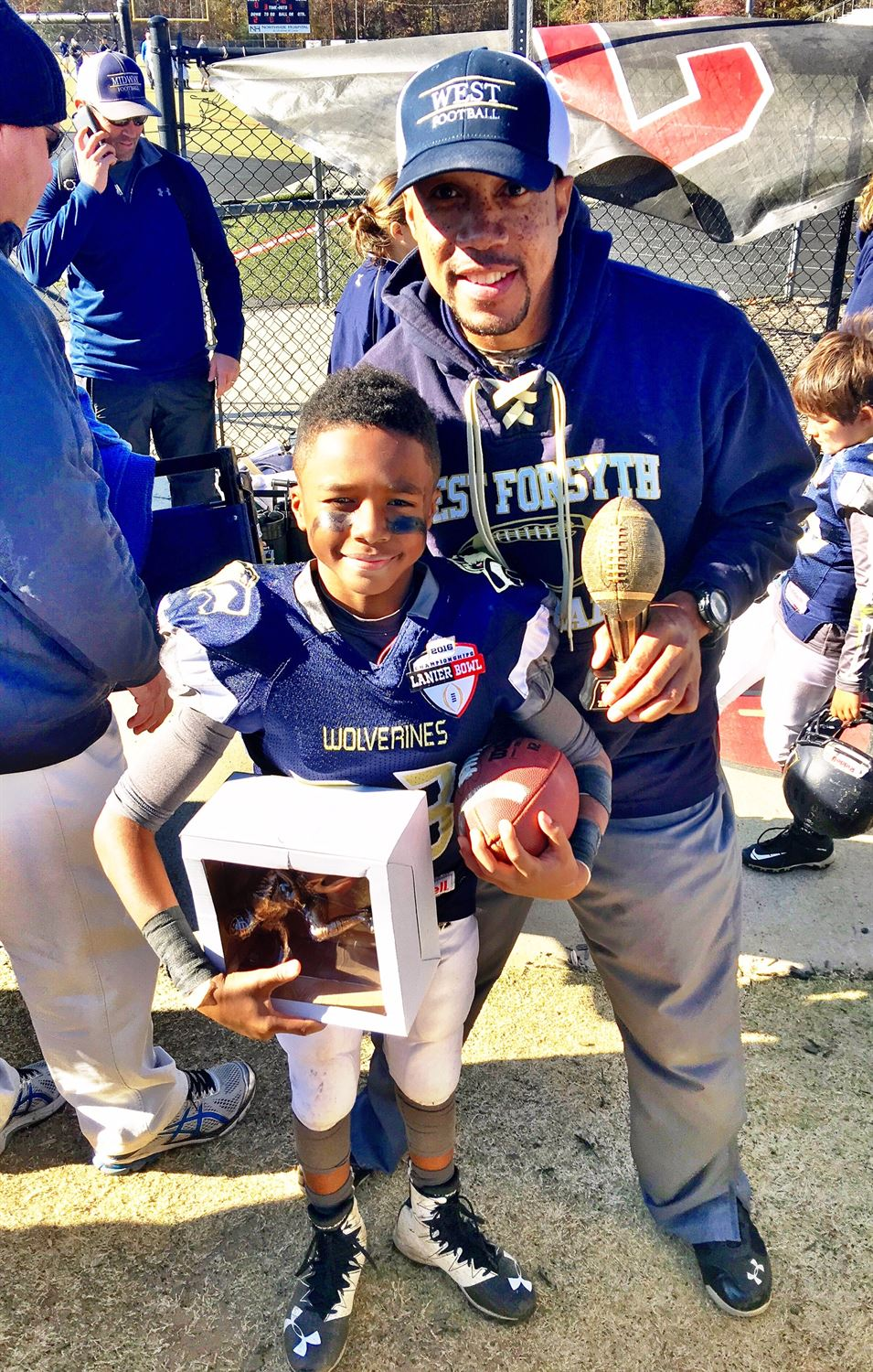 Anthony Jennings Youth Teams - JenningsWolverines