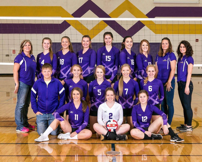 Pittsville High School - Girls' Varsity Volleyball
