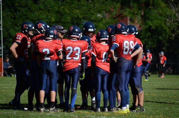 Lower Canada College  - Cadet Football Lions