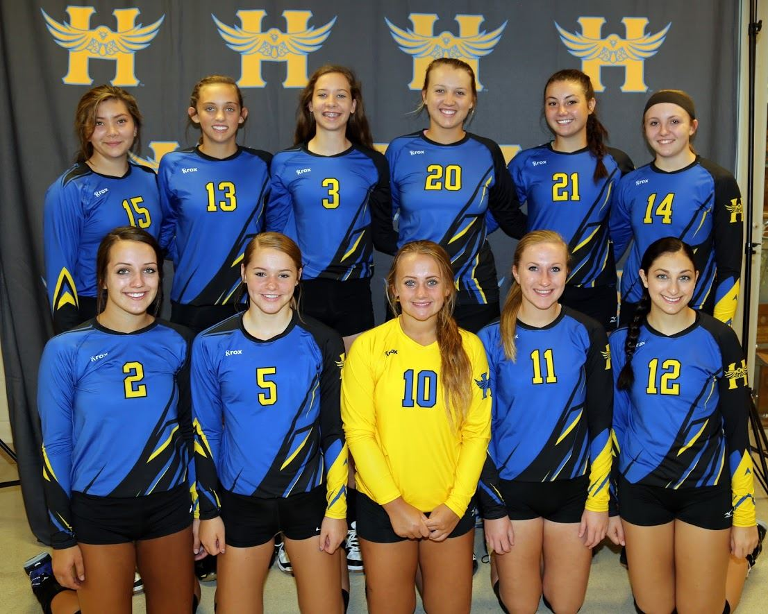 Hutchinson Public High School - Varsity Volleyball