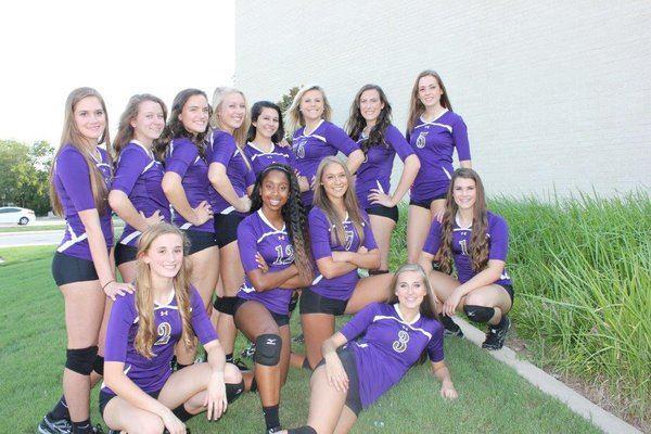 Denton High School - 2014 Lady Broncos Varsity Volleyball