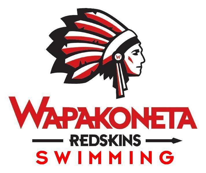 Wapakoneta High School - Redskins Swimming