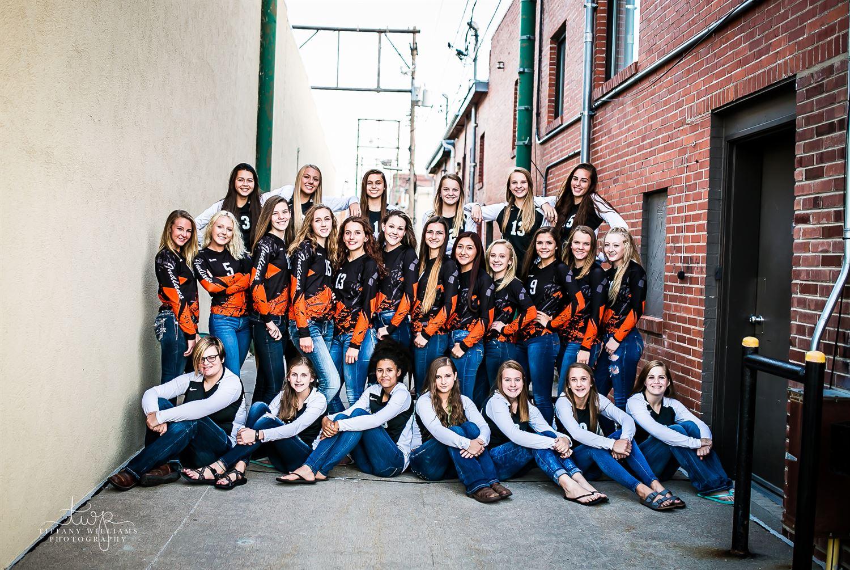 Ogallala High School - Girls Varsity Volleyball