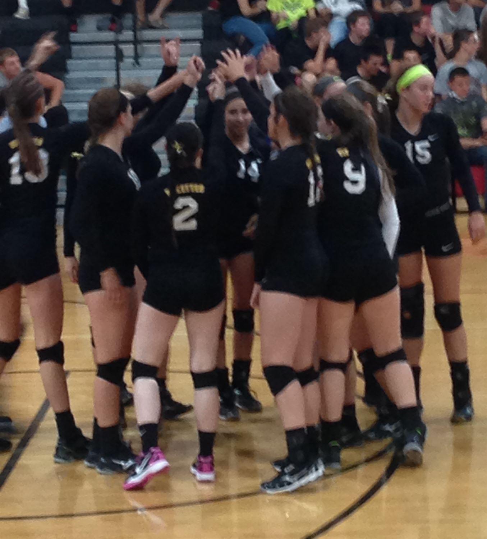 Vinton-Shellsburg High School - Girls' Varsity Volleyball