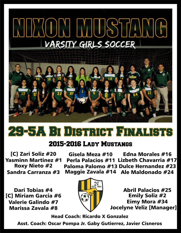 Nixon High School - Girls Varsity Soccer