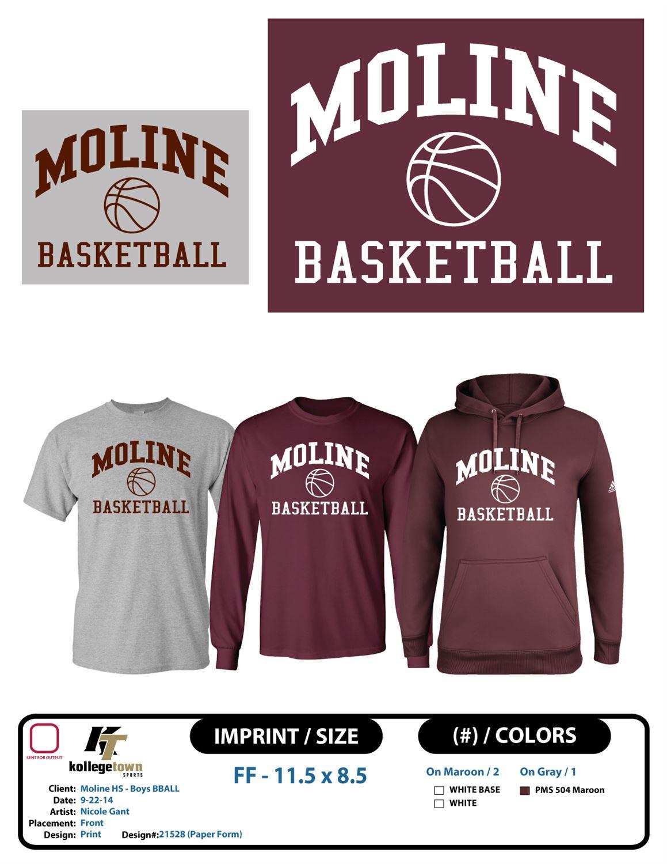 Moline High School - Moline Varsity Boys Basketball