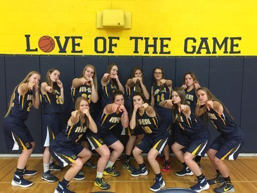 Ovid-Elsie High School - Girls' Varsity Basketball