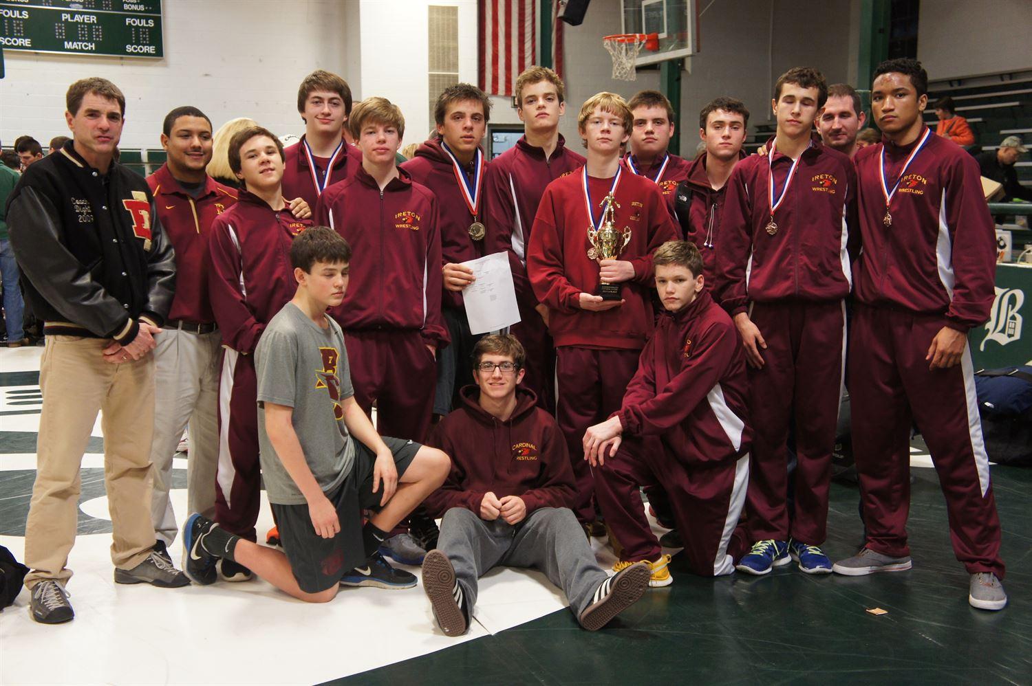 Bishop Ireton High School - Boys' Varsity Wrestling