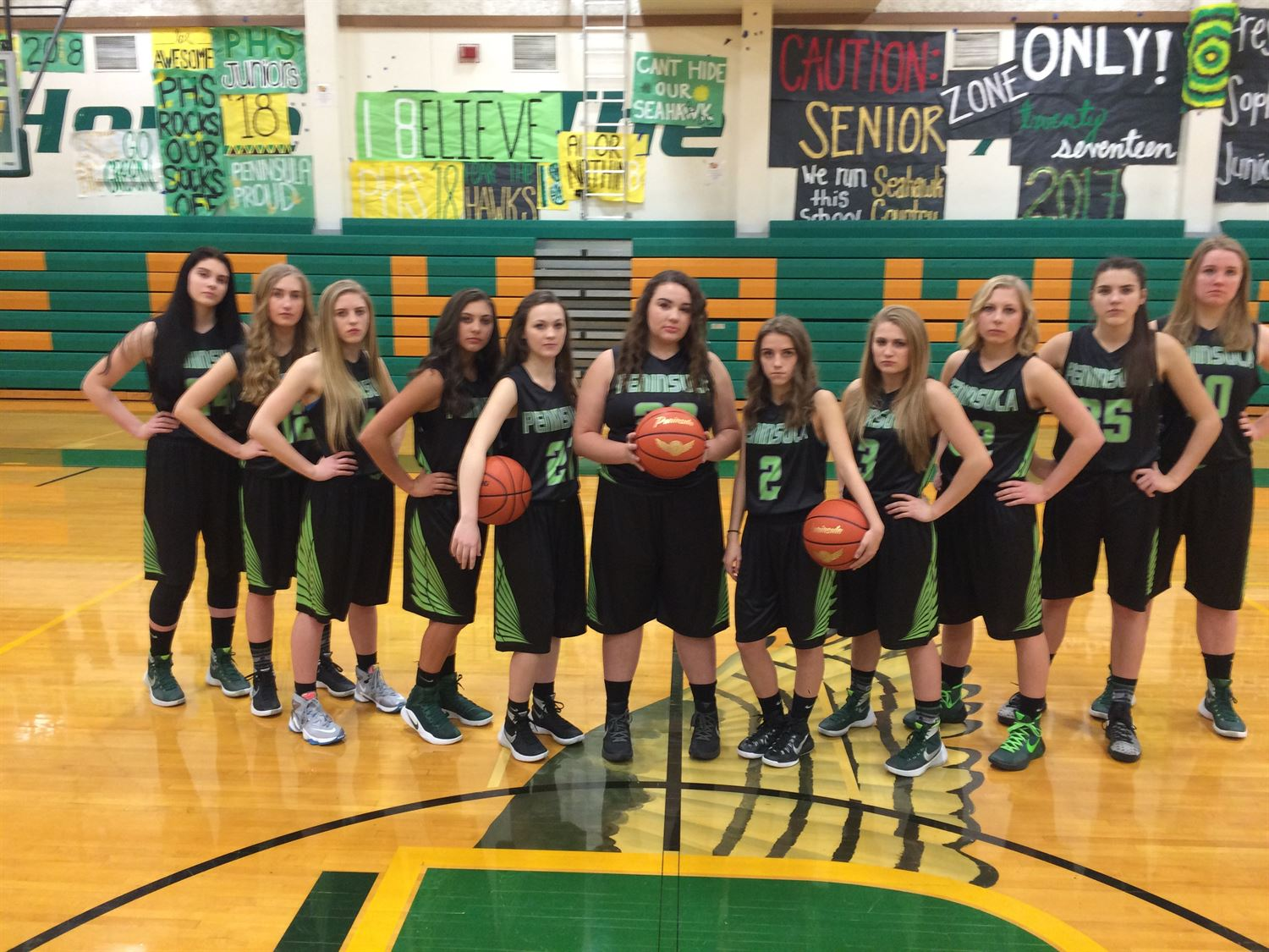 Peninsula High School - Girls' Varsity Basketball