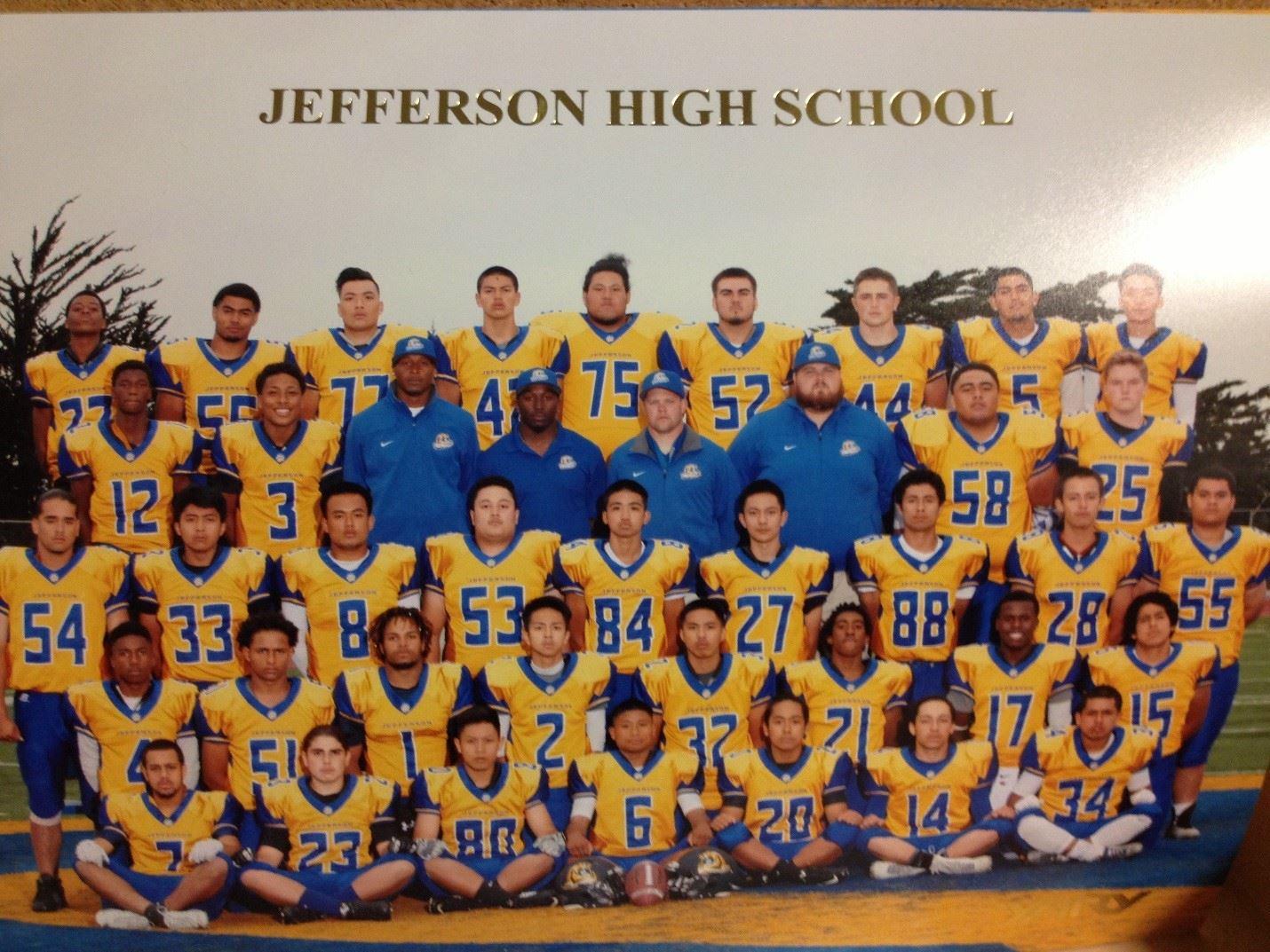 Jefferson High School - Boys Varsity Football