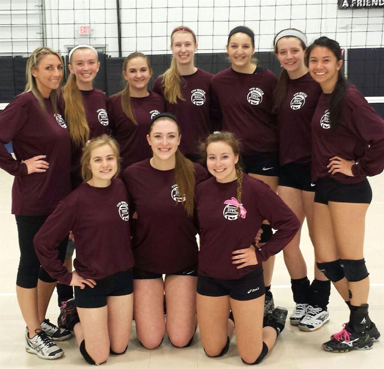 Dynamic Impact Volleyball Club - 17U White