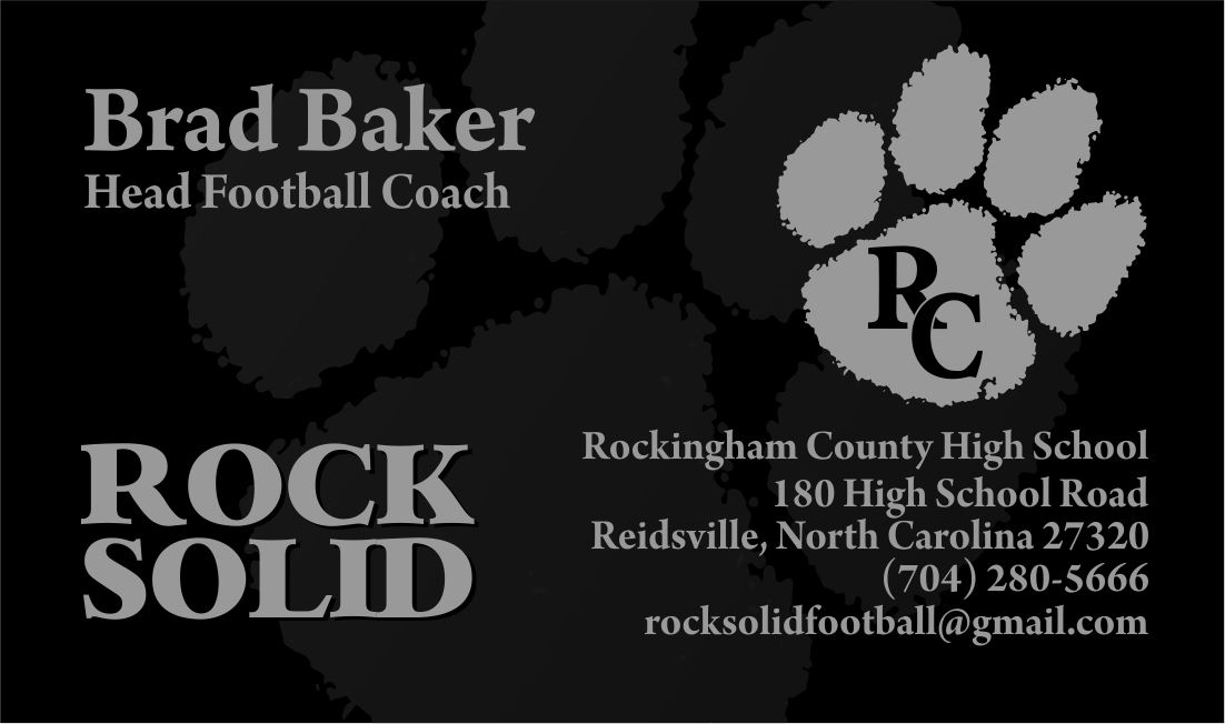 Rockingham County High School - Boys Varsity Football